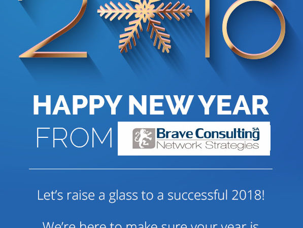 Happy new year 2018 by Brave Consulting SA – Lugano(Switzerland)